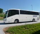 Scania Irizar (49-1-1 seats , AC , WC , TV , CD, DVD)